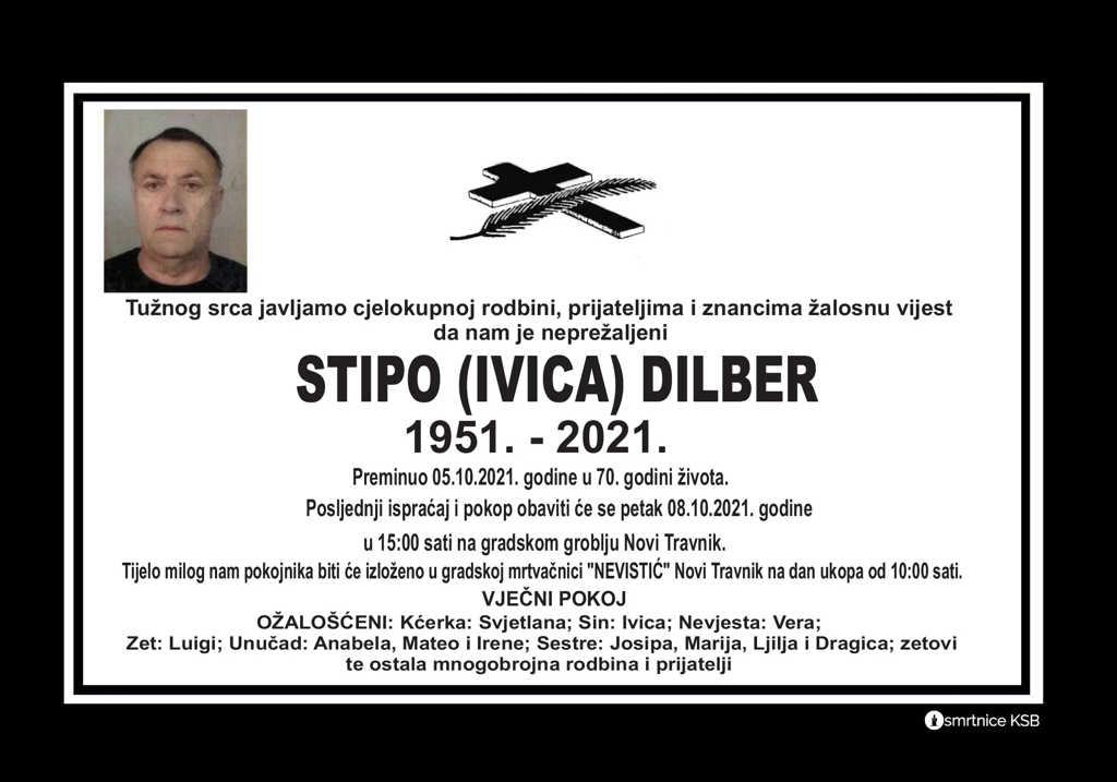 Pročitajte više o članku Stipo (Ivica) Dilber
